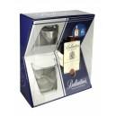 Whisky Ballantines 0.7l + 2 sk