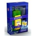 Becherovka 0.7l + 2 skleničky
