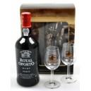 Royal Oporto ruby 0.7+2 skleni