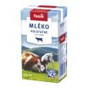 Trvanlivé mléko polotučné 0.5l