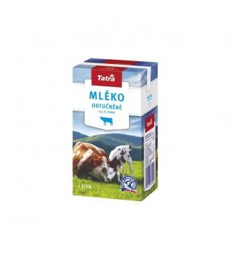 Trvanlivé mléko nízkotučné 1l