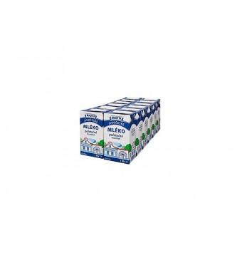 Trvanlivé mléko polotučné 1l Madeta