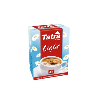 Tatra mléko 4% 340g light