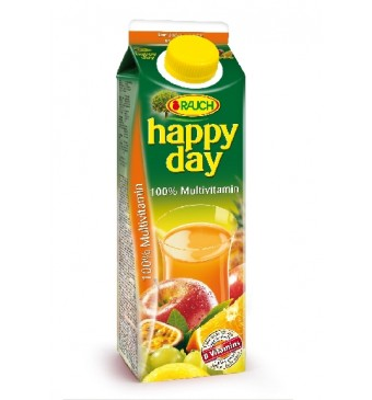Džus Multivitamin Rauch Happy Day 1l 100%