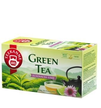 Čaj Teekanne Zelený+Echinacea s limetkou